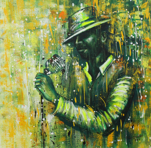 Music ,Musical Art 19,ART_1522_20737,Artist : Ram Achal,Acrylic