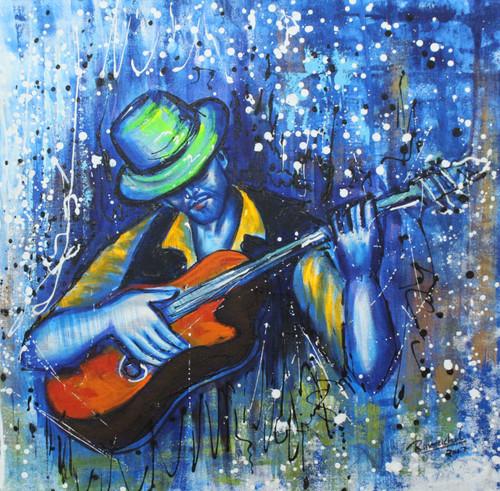 Music ,Musical art 17,ART_1522_20733,Artist : Ram Achal,Acrylic