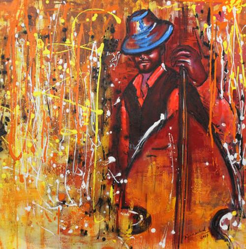 Music ,Musical Art 16,ART_1522_20732,Artist : Ram Achal,Acrylic