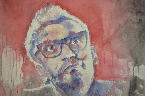 painting kolkata city potrait,The cloud capped star,ART_3067_20832,Artist : Abhishek Bhattacharyya,Water Colors