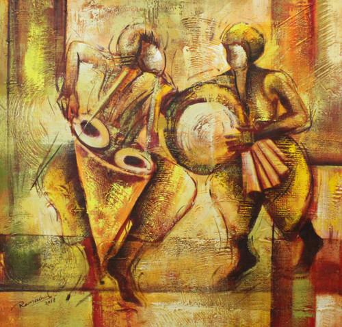 Indian Art ,Indian musical Art 07,ART_1522_20749,Artist : Ram Achal,Acrylic