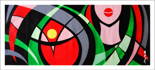 lady, women,Women,ART_3096_20913,Artist : Madhav Joshi,Acrylic