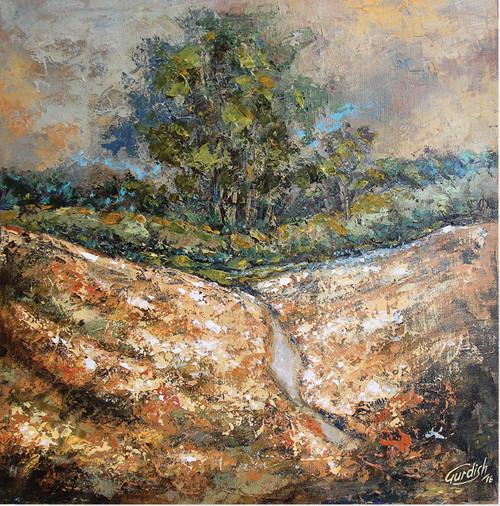,landscape,ART_2571_20533,Artist : gurdish pannu,Acrylic