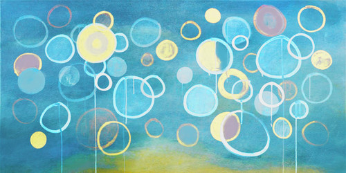 ModernThought2 - 72in X 36in,31Big97_7236,Blue, Violet, Mauve,180X90 Size,Modern Art Art Canvas Painting