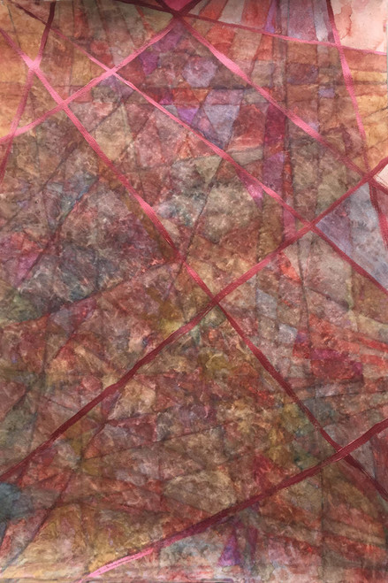 Abstract,Prismatic  Life Landscape,ART_165_21093,Artist : Nita Sippy,Mixed Media