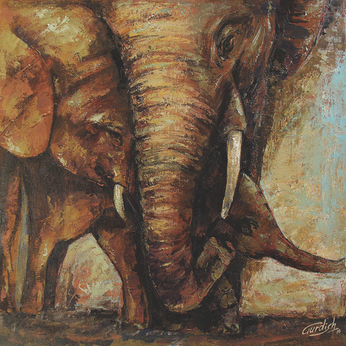 ANIMALS,ANIMALS,ART_2571_18949,Artist : GURDISH Pannu,Acrylic