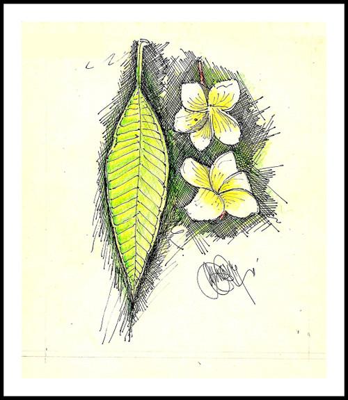 Nature,Champaka,ART_3036_21524,Artist : Kamalpreet Singh,Mixed Media