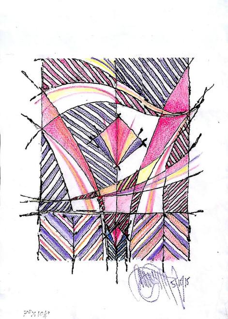 Blooming Bud,Blooming Up,ART_3036_21521,Artist : Kamalpreet Singh,Mixed Media