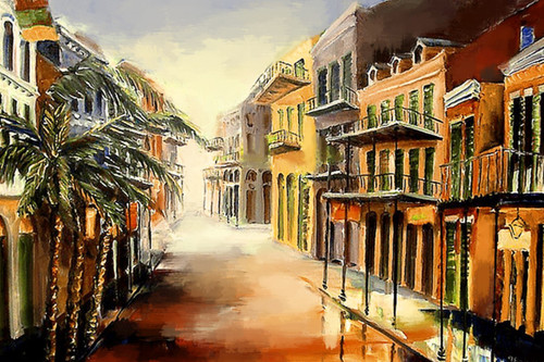 Landscape20 - 24in X 20in (Framed),71Landscape65_FRM_2016,Yellow, Brown,Oil Colors,Buildings,On the Way,Brown Background,50X40 Size,Landscape and Seascape Art Canvas Painting Buy canvas art painting online for sale by fizdi.com in India