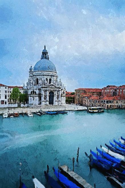Venice 2 (PRT_232) - Canvas Art Print - 21in X 32in