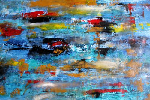 Undoing things (ART_1036_27356) - Handpainted Art Painting - 34in X 24in