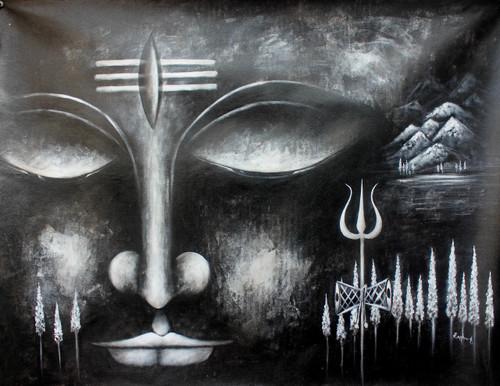 Shiva Paintings India Shiva Artworks Online Online Shopping Of