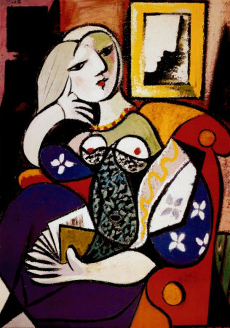picasso - 53 - 20in X 24in,picasso-53_2024,Multi-Color,50X60 Size,Replicas Art Canvas Painting