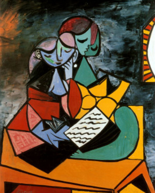 picasso - 46 - 20in X 24in,picasso-46_2024,Multi-Color,50X60 Size,Replicas Art Canvas Painting