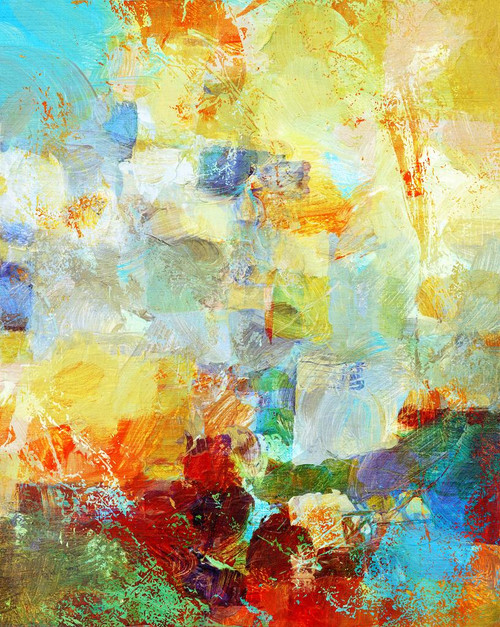 Dream Abstract (PRT_928) - Canvas Art Print - 18in X 22in