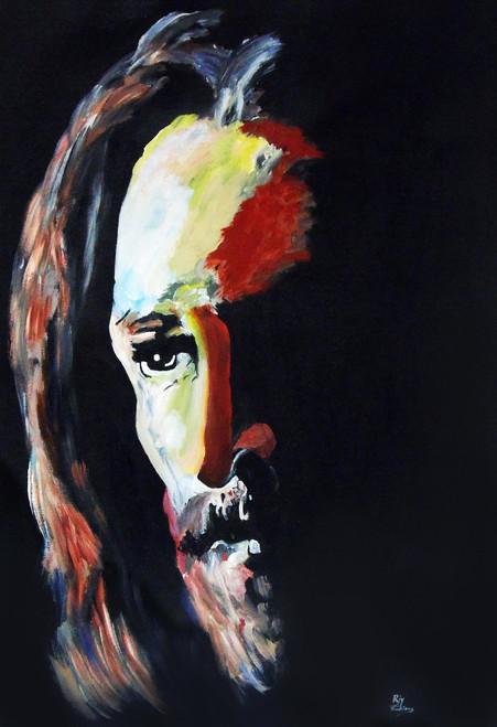 Abstract Jesus Christ Artwork