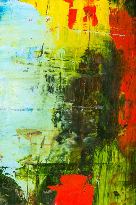 Modern Abstract17 (PRT_988) - Canvas Art Print - 21in X 31in