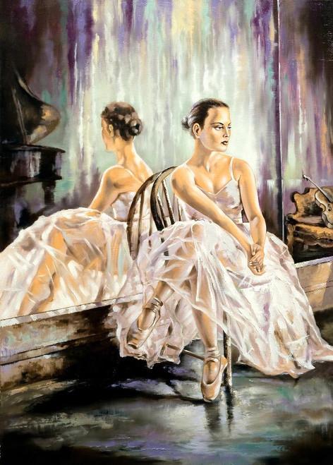 The Belly Dancer (PRT_991) - Canvas Art Print - 15in X 20in