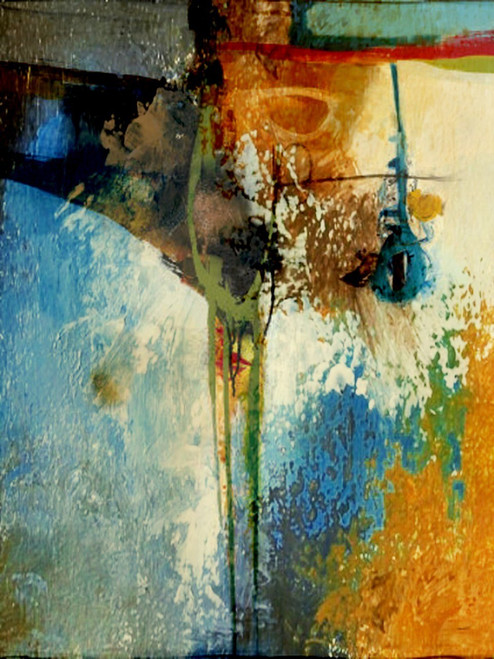 AbstractGlass - 18in X 24in,31ABT519_1824,Multi-Color,45X60,Abstract Art Canvas Painting