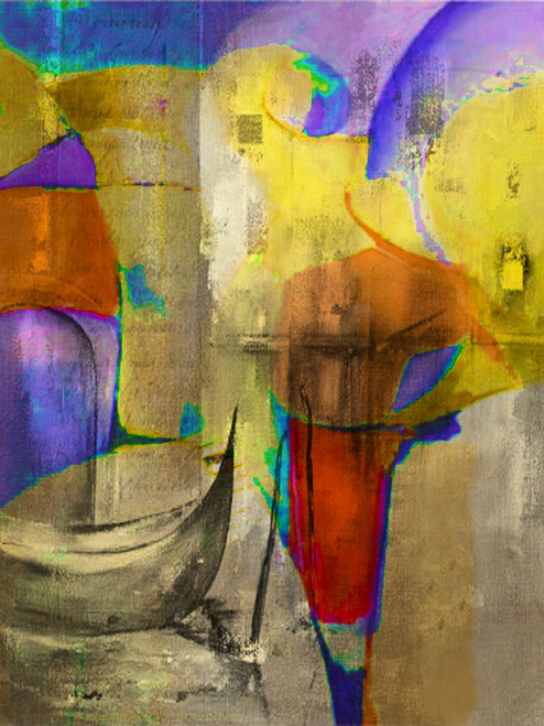 41ABT110 - 20in X 30in,41ABT110_2030,Multi-Color,50X75 Size,Abstract;Latest Collection Art Canvas Painting