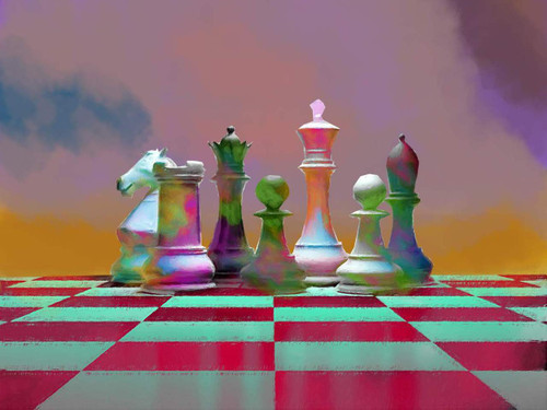 Chess,Horse,Intellent Game,Mind Game,Horse Power,At The Same Stage ,Power