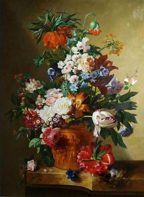 Flower,flowers,flower vas,red flowers,still life