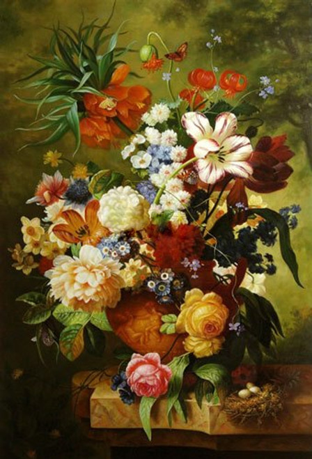 Flower,flowers,flower vas,bunch of flowers,flower paintings