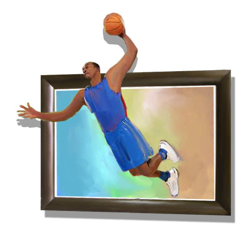 sports,basket ball,basket ball player,man ,man palying basket ball, 3D,3D paintings