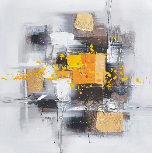 Abstract,abstract paintings, yellow abstract