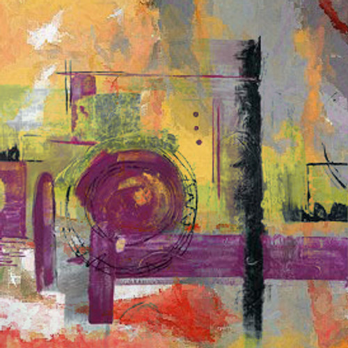 Abstract,abstract paintings,violet abstract,violet painting