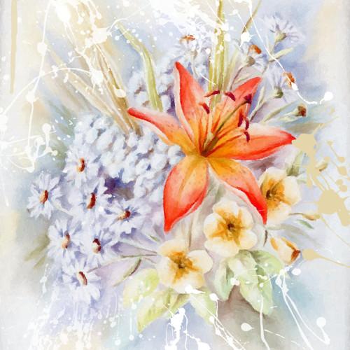 Flower,bunch of flowers,red flower,white flower,beautiful flowers,blue flowers