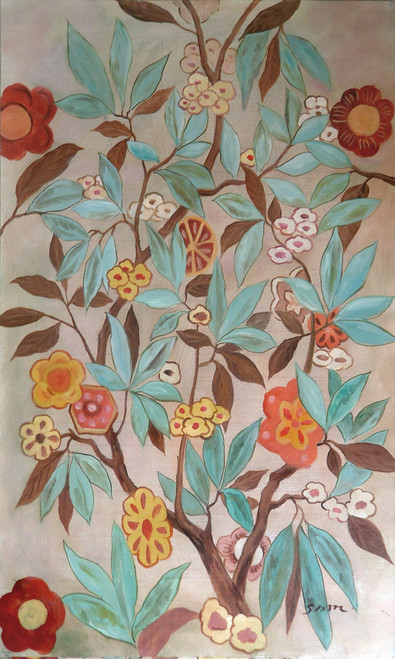 Flower,bunch of flowers,red flower,white flower,beautiful flowers,blue flowers,leaves,leaves painting,leaf