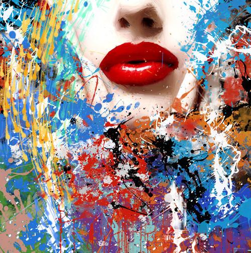 Beauty,Female,Lady,Women,Lips,Red Lips,Red Beauty,Figure,Model,Pose,Body Language,The Passion,Body Art