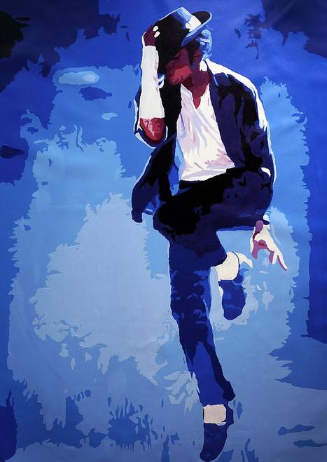 micheal Jackson, pop art, music, dance, dancer painting, MJ, micheal jackson dancing