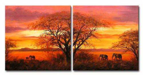 tree,sunrise,sunset,elephants,animals,forest, elephant herd