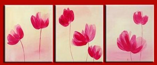 abstract, flower. Flowers, pink flowers, simple flowers