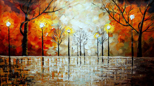 Following the Flow,Light Glow,game of Nightand Light,Red,Orange light