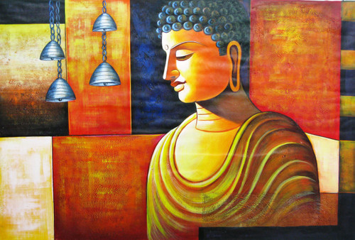Buddha,Orange Shade Buddha,Peace,Meditaion,Nirvana