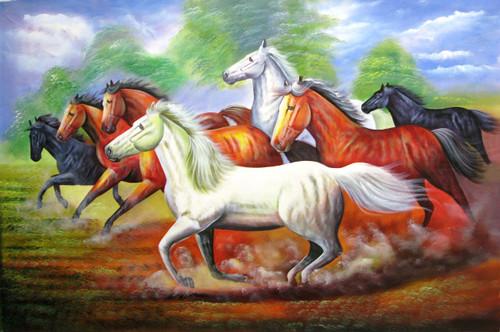 Horse,Horses,Good Luck,7 Good Luck Horses