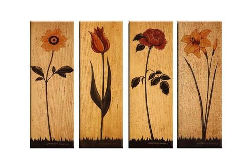 flower, flowers, all flowers, rose, sunflower, tulip, many flowers, plant of flowers