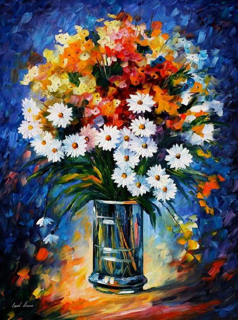 Floral Vase,Flowers,White Flower Bouqute,Blue Vase ,White Flower