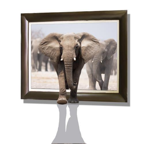 elephant, 3d, 3d elephant, wild animals,2 elaphants