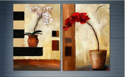 flowers, flower , red flower, white flower, flower vase, flower pot, multipiece