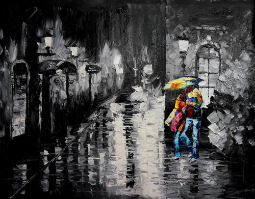 rain , city, rainy city, couple, couple in rain, couple with umbrella, texture