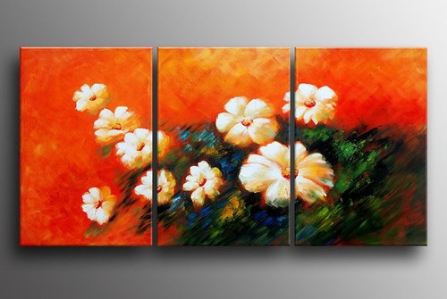flower, flowers, white flower, orange, multipiece flower, blossom