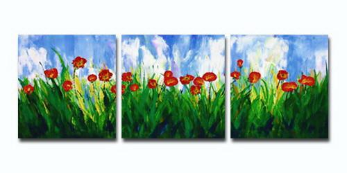flower, flowers , red flowers, blossom, field of flowers, multi piece flower