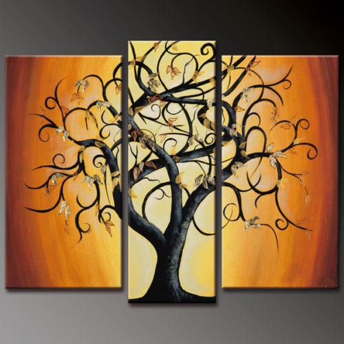 tree, one tree, multi piece, multi piece tree, happy , joy, joy ful tree, black tree