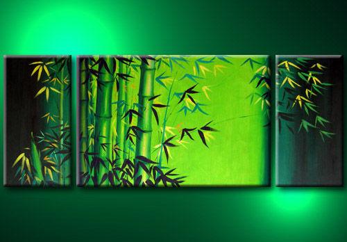 tree, bamboo tree, bamboo, green bamboo, bamboo painting, multi piece bamboo