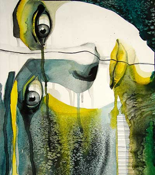 55Figure23 - 24in X 32in,55Figure23_2432,Oil Colors,Canvas,Women,Girl,Female,Green,Rs.3290,Modern Art;Figurative;Latest Collection;By Orientation and Size/Vertical/Medium (25in to 32in);Full Collection,Museum Quality - 100% Handpainted