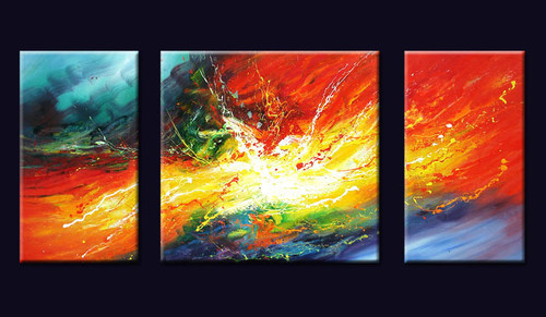 multi piece, splash, multi piece multi color painting, sphash of colors, colorful, abstract, multi piece abstract